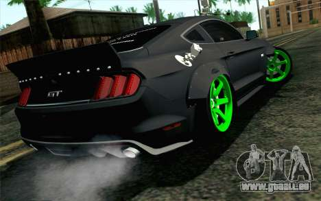 Ford Mustang 2015 Monster Edition für GTA San Andreas linke Ansicht
