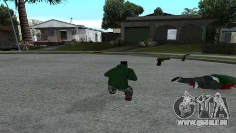Gold Desert Eagle für GTA San Andreas zweiten Screenshot