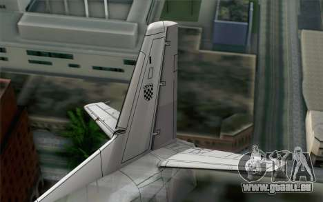 AN-32B Croatian Air Force Closed pour GTA San Andreas sur la vue arrière gauche