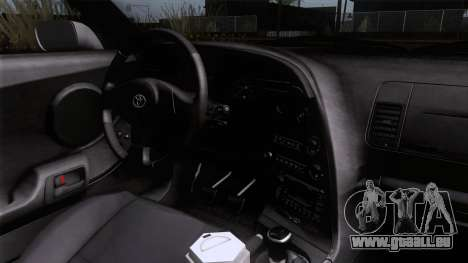 Toyota Supra US-Spec (JZA80) 1993 HQLM pour GTA San Andreas vue de droite