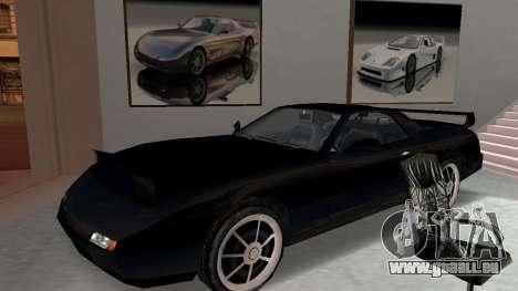 Beta ZR-350 Final pour GTA San Andreas vue intérieure