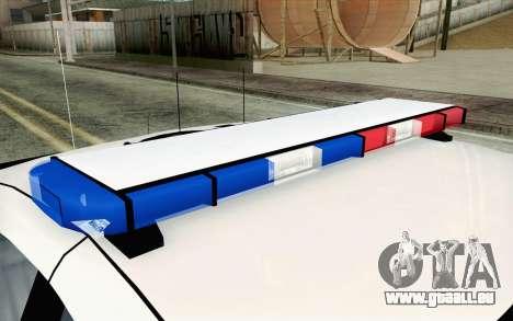 Chevy Caprice SAHP SAPD Highway Patrol v1 pour GTA San Andreas sur la vue arrière gauche
