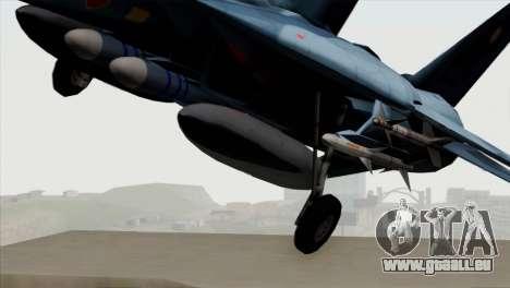 F-14 Japan Air Self Defense Force pour GTA San Andreas vue arrière