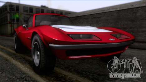 GTA 5 Invetero Coquette Classic HT pour GTA San Andreas