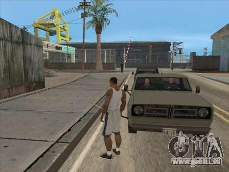 Les Russes dans le quartier Commercial pour GTA San Andreas quatrième écran