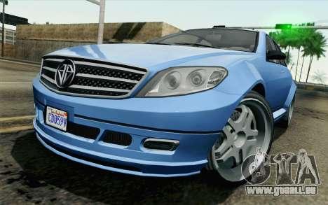 GTA 5 Benefactor Schafter pour GTA San Andreas