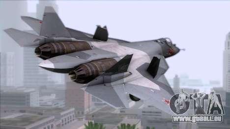 Sukhoi T-50 PAK FA Akula für GTA San Andreas linke Ansicht