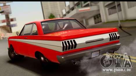 GTA 5 Vapid Blade v2 für GTA San Andreas linke Ansicht