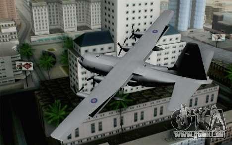 C-130H Hercules RAF pour GTA San Andreas laissé vue