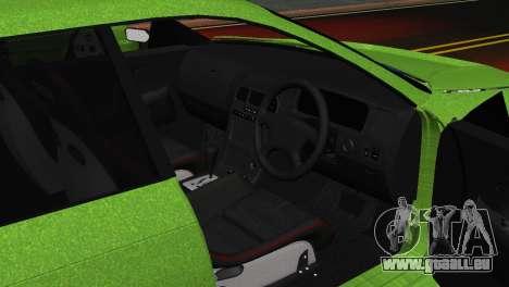Toyota Mark II Tourer_V für GTA San Andreas Rückansicht