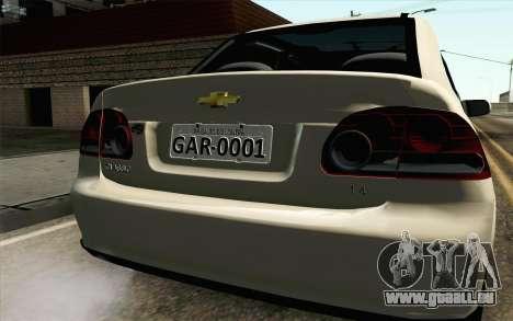 Chevrolet Classic pour GTA San Andreas vue arrière