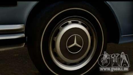 Mercedes-Benz 300 SEL 6.3 (W109) 1967 HQLM pour GTA San Andreas vue arrière