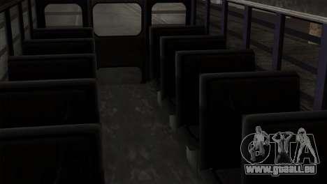 GTA 4 TLaD Prison Bus für GTA San Andreas Rückansicht