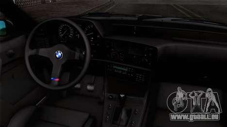BMW M635 CSi 1984 Stock pour GTA San Andreas vue de droite