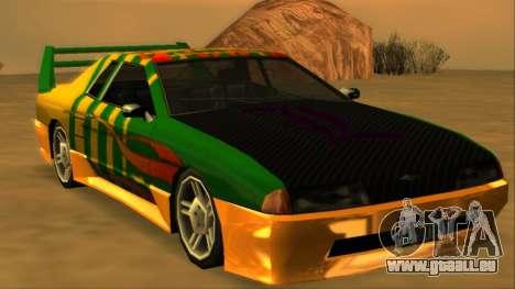 Luni Elegy FIXED pour GTA San Andreas roue