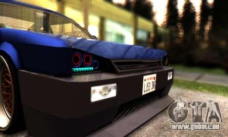 Blista Compact By VeroneProd pour GTA San Andreas vue de côté
