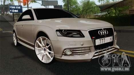Audi S4 Sedan 2010 für GTA San Andreas
