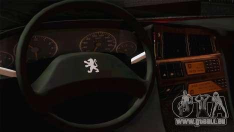 Peugeot Pars für GTA San Andreas zurück linke Ansicht
