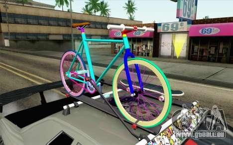 Elegy Modification pour GTA San Andreas vue de droite