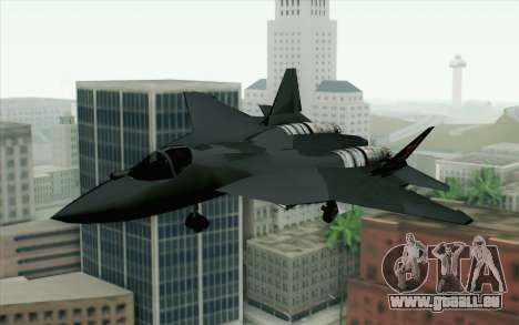 Sukhoi PAK-FA China Air Force pour GTA San Andreas