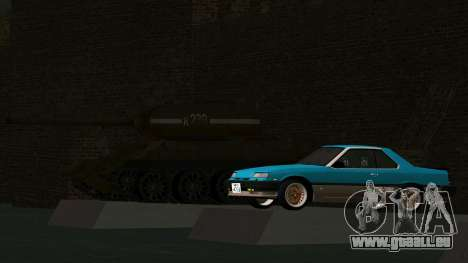 Nissan Skyline 2000 Turbo Intercooler RS-X kouki für GTA San Andreas Innenansicht