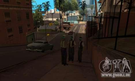 Modifier les zones les gangs et leurs armes v1.1 pour GTA San Andreas quatrième écran