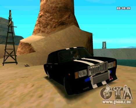 VAZ 2107 CRAMPES pour GTA San Andreas vue de côté