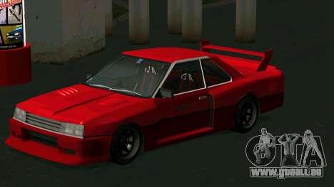 Nissan Skyline RS Turbo F-SPL (R30) pour GTA San Andreas laissé vue