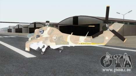Savage GTA 5 für GTA San Andreas linke Ansicht