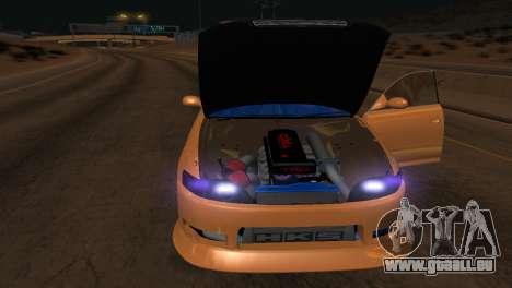 Toyota Mark II für GTA San Andreas obere Ansicht
