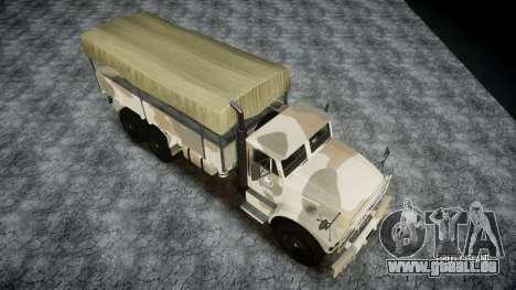 GTA 5 Barracks v2 pour GTA 4 Vue arrière