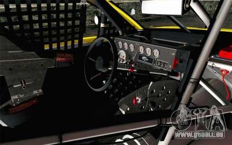 NASCAR Ford Fusion 2013 v4 pour GTA San Andreas vue de droite