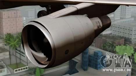 Boeing E-767 Japan Air Self-Defense Force EoJ für GTA San Andreas Rückansicht