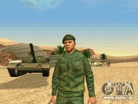 L'armée russe est une nouvelle forme d' pour GTA San Andreas septième écran