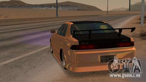 Toyota Mark II für GTA San Andreas Rückansicht