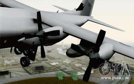C-130H Hercules RAF pour GTA San Andreas vue de droite