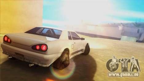 Élégie sur les pistes pour GTA San Andreas laissé vue