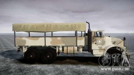 GTA 5 Barracks v2 pour GTA 4 est un droit