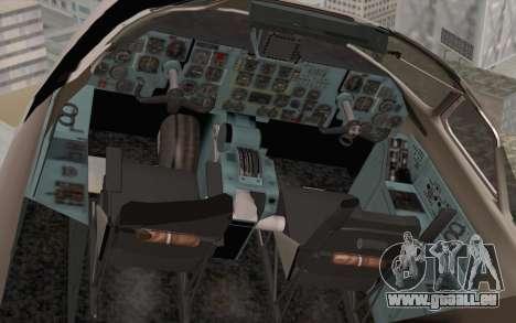 AN-32B Croatian Air Force Closed für GTA San Andreas Rückansicht