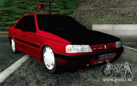 Peugeot 405 Tuning für GTA San Andreas