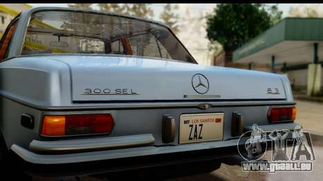 Mercedes-Benz 300 SEL 6.3 (W109) 1967 HQLM pour GTA San Andreas vue de droite