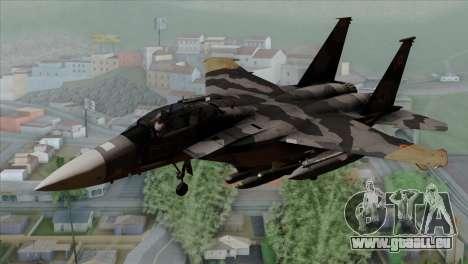 F-15E Yellow Squadron für GTA San Andreas