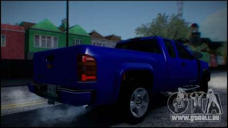 Chevrolet Silverado 1500 HD Stock pour GTA San Andreas vue de côté