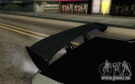 Elegy Modification pour GTA San Andreas vue intérieure