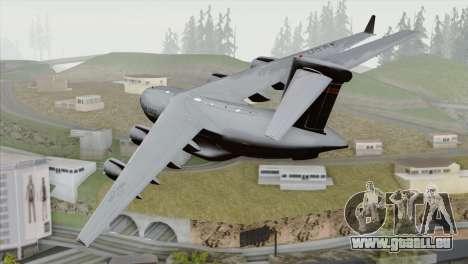 C-17A Globemaster III USAF Hickam für GTA San Andreas linke Ansicht