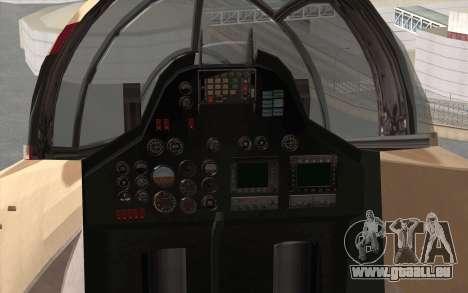 Savage GTA 5 v1.2 pour GTA San Andreas vue arrière