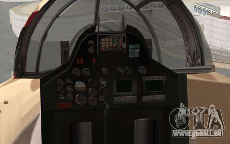 Savage GTA 5 v1.2 für GTA San Andreas Rückansicht