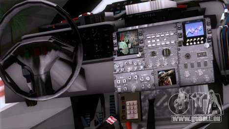 Shuttle v2 Mod 1 für GTA San Andreas rechten Ansicht
