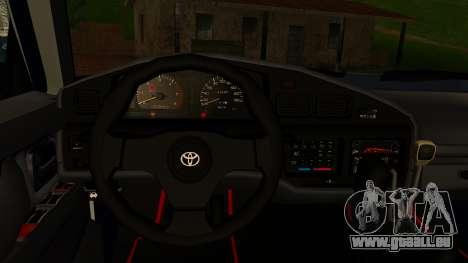 Toyota Land Cruiser 80 v1.0 pour GTA San Andreas vue de droite