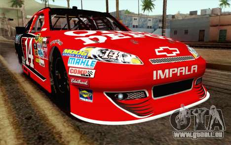 NASCAR Chevrolet Impala 2012 Short Track pour GTA San Andreas